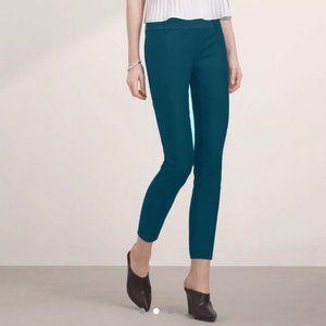 ARITZIA BABATON Emerald Green Cropped Pants
